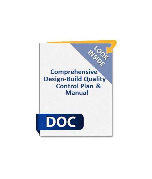 921_Design-Build_Comprehensive_Quality_Control_Plan_and-Manual