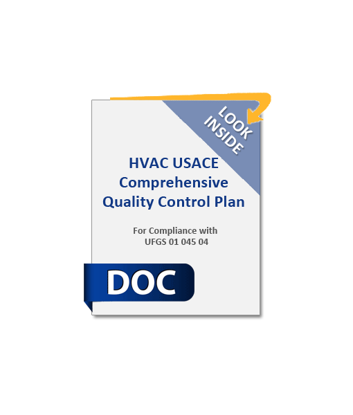 954_HVAC_USACE_Comprehensive_Quality_Control_Plan_Product_Image