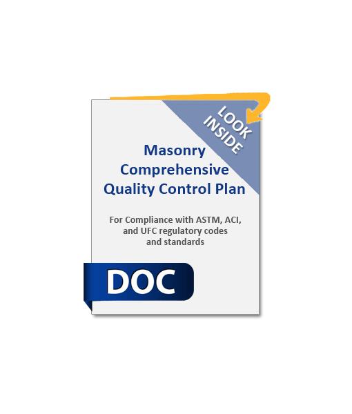 964_Masonry_Comprehensive_Quality_Control_Plan_Product_Image