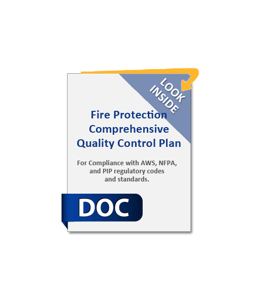 966_Fire_Protection_Comprehensive_Quality_Control_Plan_Product_Image