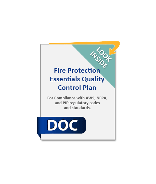967_Fire_Protection_Essentials_Quality_Control_Plan_Product_Image