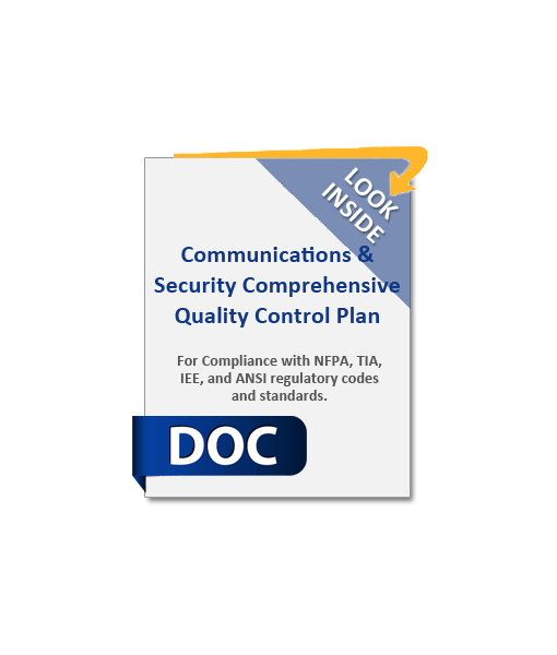 974_Communications_Security_Comprehensive_Quality_Control_Plan_Product_Image