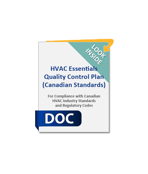 1001_HVAC_Essentials_Quality_Control_Plan_Canadian_Standards_Product_Image