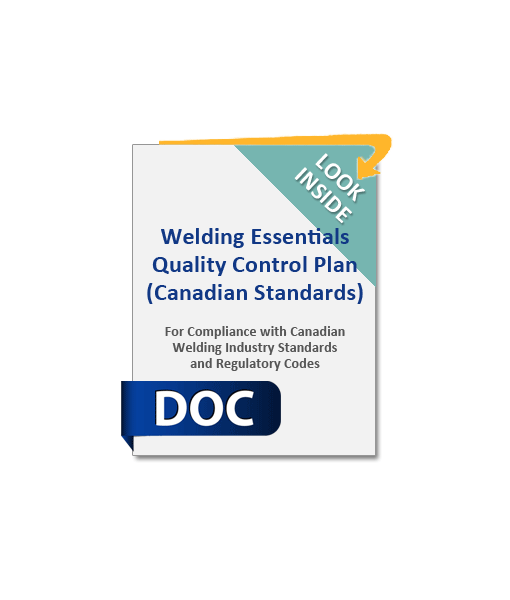 1007_Welding_Essentials_Quality_Control_Plan_Canadian_Standards_Product_Image