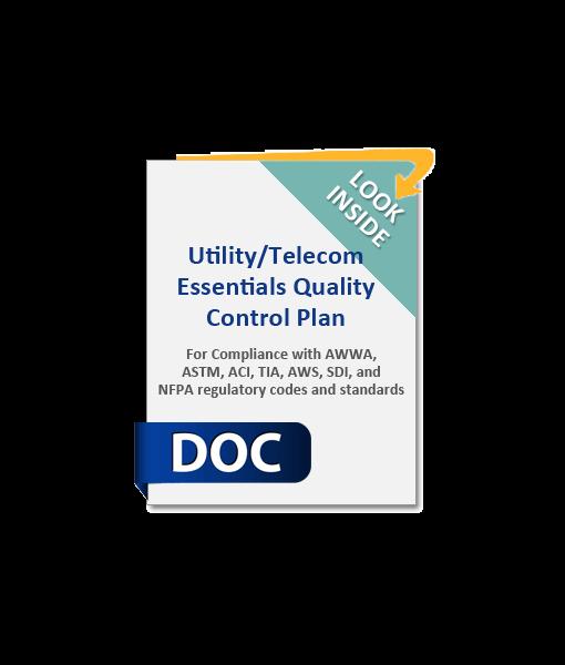 1051_Utility-Telecom_Essentials_Quality_Control_Plan_Product_Image